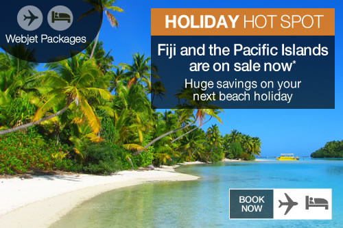 Fiji and Pacific lslands Holiday Packages sale
