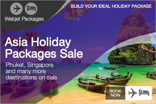 Asia Holiday Packages Sale on now