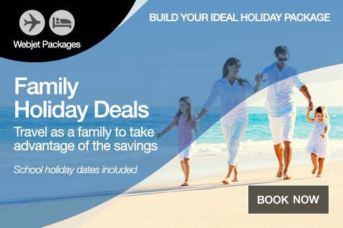 Family Holiday Packages sale on now